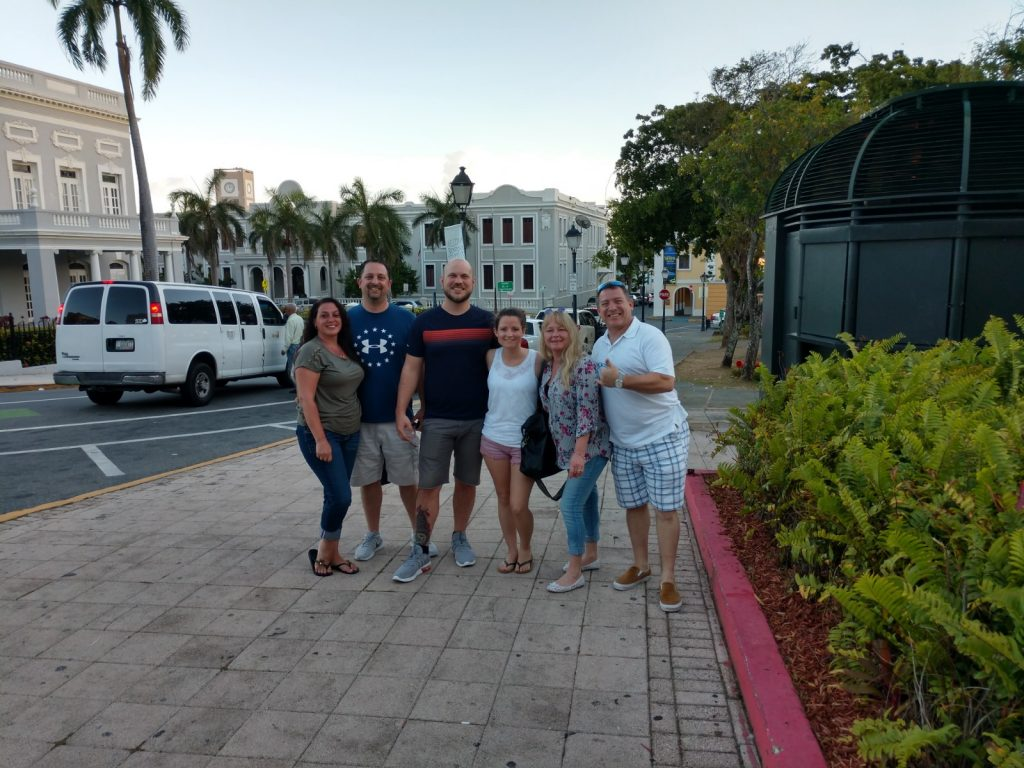 Christine & Pete, Nick & Stephanie, Michelle & Dave after netsapiens User Group Meeting 2019