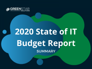 it budget report